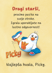 Picky opozorilne tablice / Piky opozorenje tablice