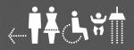 Piktogrami z napisi in oznakami / Piktogrami sa napisi i oznakam